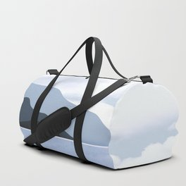 Calmness of Blue Duffle Bag