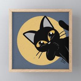 Hello everybody Framed Mini Art Print