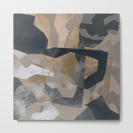 Camouflage XXXXIX Metal Print