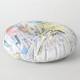 Lisbon Tram Floor Pillow