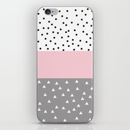 Cute pastel pattern iPhone Skin