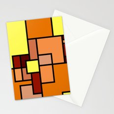 The Colors of / Mondrian Series - Lion King  Stationery Cards