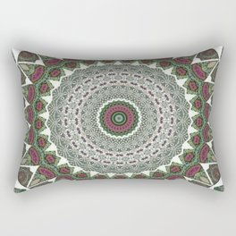 Resurrect Mandala 4 Rectangular Pillow