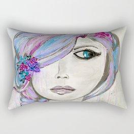 'Colourful Awareness' by Jolene Ejmont Rectangular Pillow