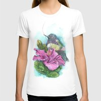 hibiscus T-shirts featuring Hibiscus by Maria Trillidou