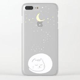monocat Clear iPhone Case