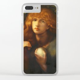 Dante Gabriel Rossetti - Mary Magdalene. Clear iPhone Case