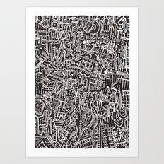 Textile 4 Art Print