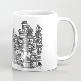 Busy City XI Coffee Mug