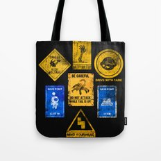 USEFUL SIGNS Tote Bag