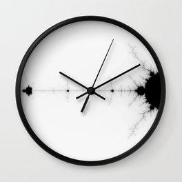 detail on mandelbrot set Wall Clock