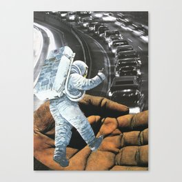 Extreme Way To Avoid Traffic Canvas Print