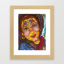 Wisdom Keeper Color #49 (Peaceful Revolution) Framed Art Print