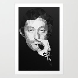 Gainsbourg Art Print