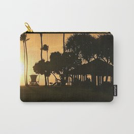 """Poipu Beach, Kauai"" Photography by Willowcatdesigns Carry-All Pouch"