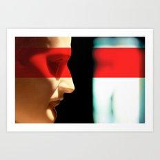 Silent Napoleon Art Print