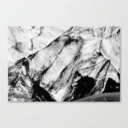 Marble Glacier Canvas Print