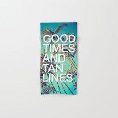 Good Times Hand & Bath Towel