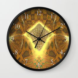 Space Honeycomb Wall Clock