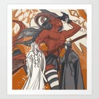 Halloween Silmarillion Art Print