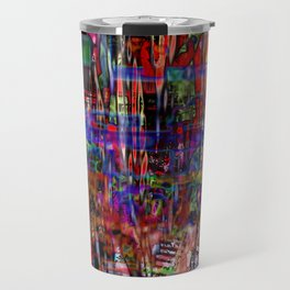 Down And Out And Junk In The Candy Kingdom [A Simple Constraint Series] Travel Mug