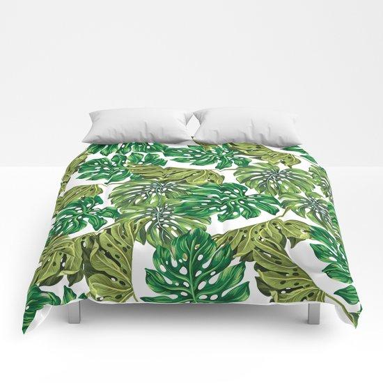 tropical haven Comforters