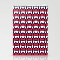 pokeball Stationery Cards featuring Pokeball Pattern by Jennifer Agu