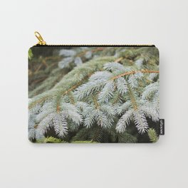 Blue Spruce Needles 24 Carry-All Pouch