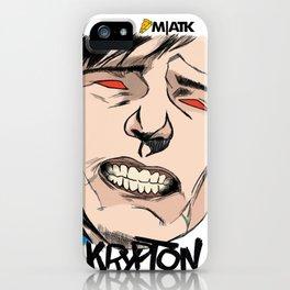 Krypton! iPhone Case