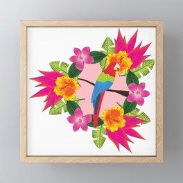 Tropical paradise Framed Mini Art Print