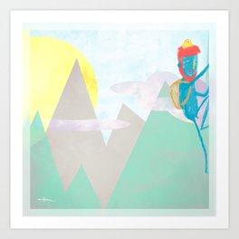 ESCALADA 01 Art Print