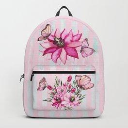 Pretty Pink Flutterbies Backpack