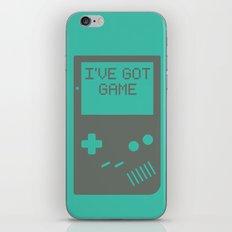 I've got Game, Boy. iPhone & iPod Skin