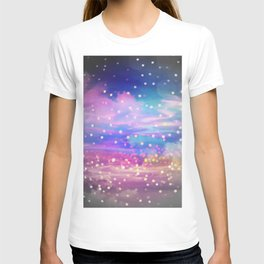 Bokeh sky ii T-shirt
