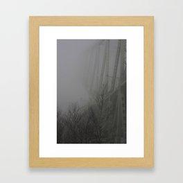 Bridge to Nowhere Framed Art Print