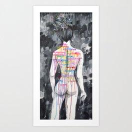 Riotous Color Art Print