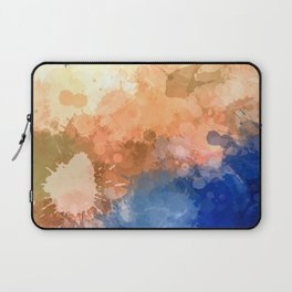 """Modern Contemporary """" Tranquility""""Abstract Laptop Sleeve"""