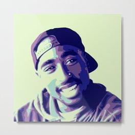 Tupac ii Metal Print