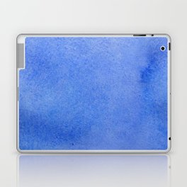 Azure watercolor Laptop & iPad Skin