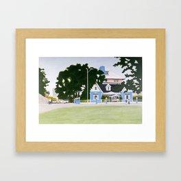 The George Brown House Framed Art Print