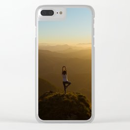 Fine Art Photograph - Yoga Life Clear iPhone Case
