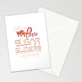Sugar Glider Lover Stationery Cards