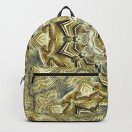 Flower Of Life Mandala (Soft Sunrise) Backpack