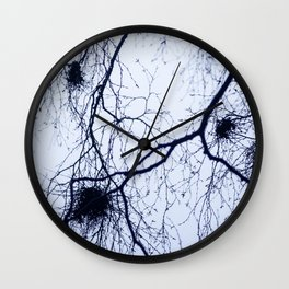 What trees reach for Wall Clock