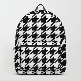 Houndstooth Classic Black&White Backpack