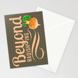 Beyond Radishing - Punny Garden Stationery Cards