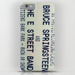 Bruce Springsteen & the E Street Band: Rain or Shine iPhone Case