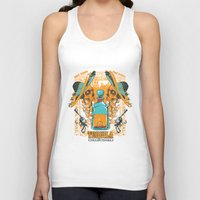 tequila Tank Tops featuring Tequila Duel by Tshirt-Factory