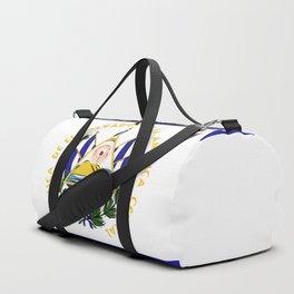 El Salvador flag emblem Duffle Bag