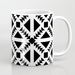 Geo Stamp Black Coffee Mug
